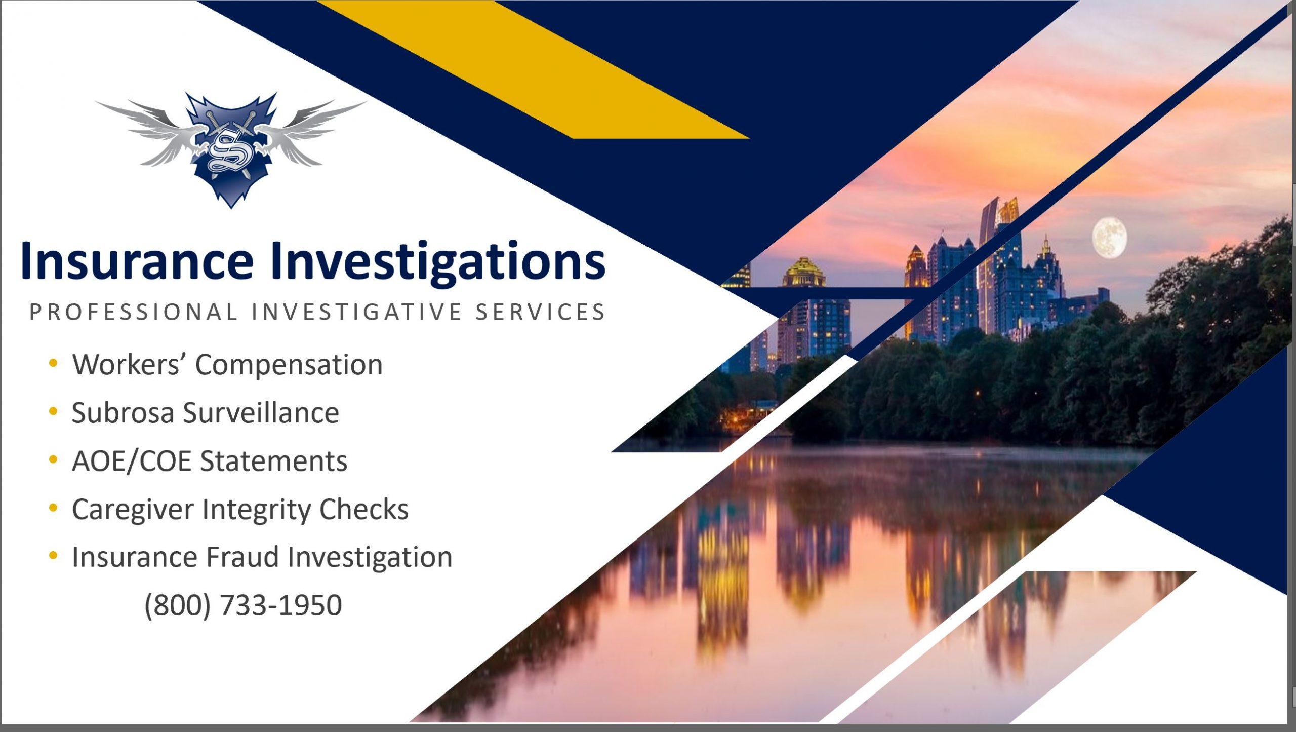 Atlanta Ga Private Investigator Stryker Investigation Services Inc